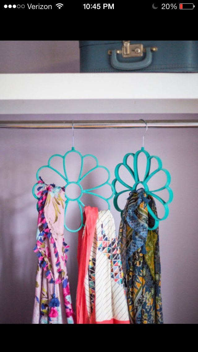 19 Best Images About Scarf Holders On Pinterest Ladder