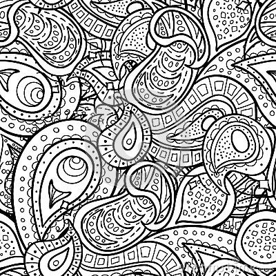Paisley Pattern Colouring Sheets : 48 best images about coloring on pinterest