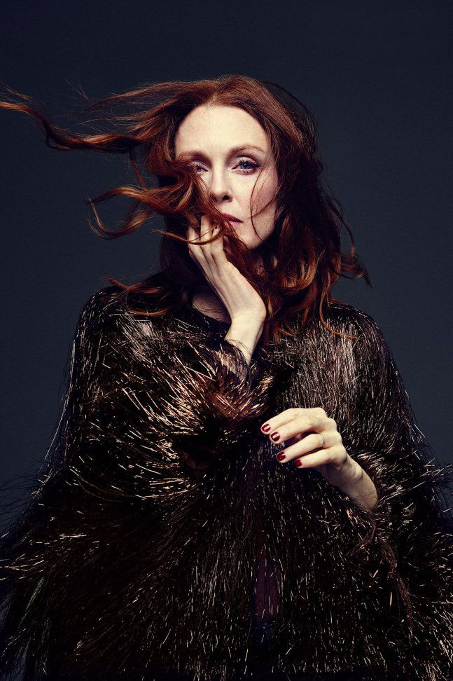 Julianne Moore by Miller Mobley for The Hollywood Reporter