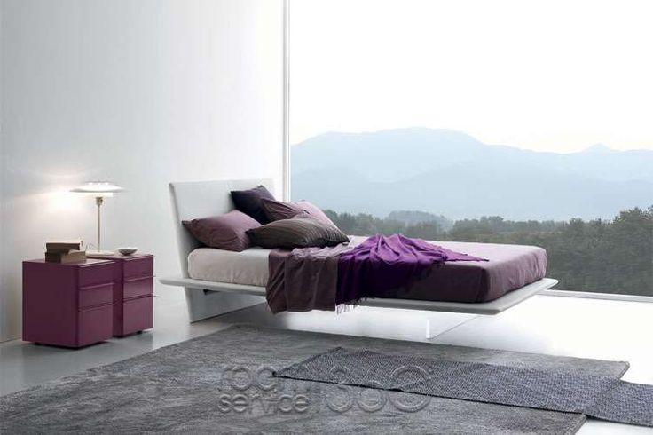 plana designer floating bed by presotto #18461 | arredamento, Innenarchitektur ideen