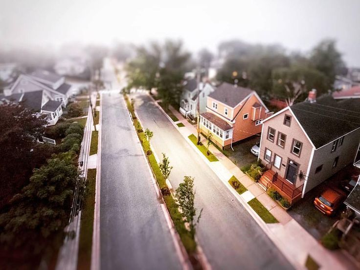From @glovernotafighter  Dreamland? (the view from my walk across the bridge this morning in the fog) #halifax  #dartmouth #visitdartmouth #fuji1024 #tiltshift #faketiltshift #fog #halifaxnoise #viewfromabove #anguslmacdonaldbridge #streetshoot