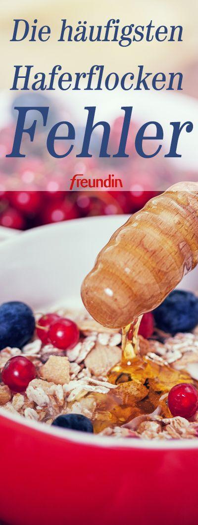 Ob mit Obst oder als cremiger Porridge: Wir lieben Haferflocken! Vor allem dann,… – Die besten Rezepte mit Haferflocken