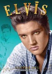 Calendrier Elvis Presley 2015 de format A3 de l'artiste Américain ,le King, le plus connu dans le monde entier chanteur aux nombreux hits adulé encore par des millions de fan malgré sa disparition en 1977 le 16 août, calendrier de 12 mois avec 12 photos différentes de l'artiste.