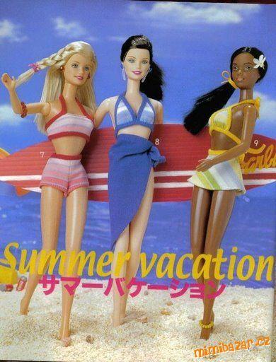 střihy na Barbie - free download