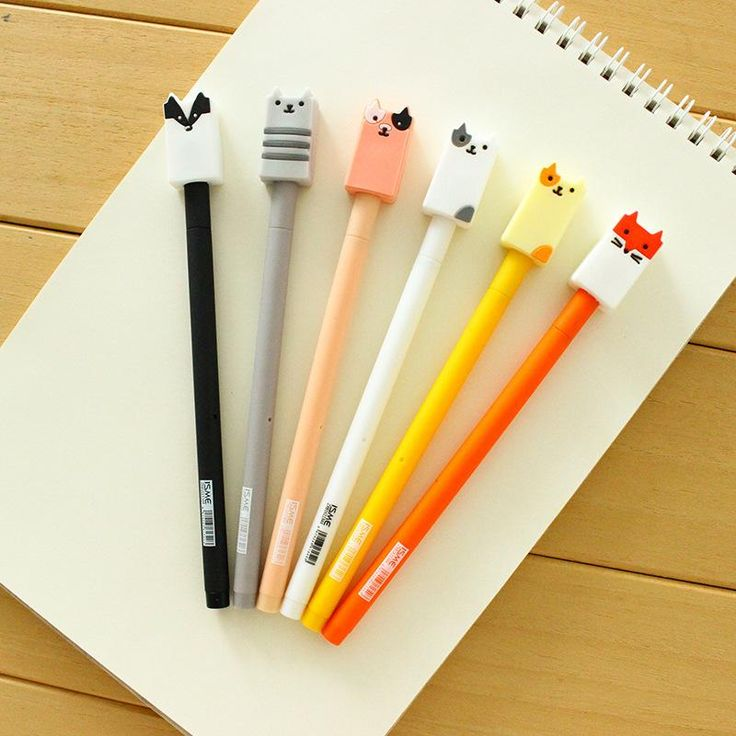 1 Pcs Gel Pens Cartoon Wuli Baby Black Colored Kawaii Gift Gel Ink Pens  Pens For Writing Cute Stationery Office School Supplies