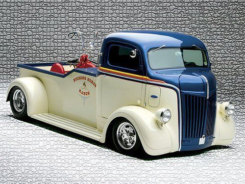 Cab Over Hot Rod | repinned by www.BlickeDeeler.de