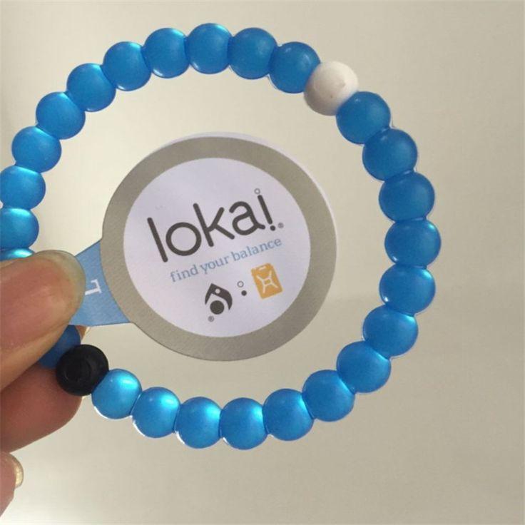 48color 48pcs Silicone Lokai Bracelet Fashion Shark Lokai Silicone Beads Balance Bracelets for Men and Women Energy Bracelet DIY #Affiliate