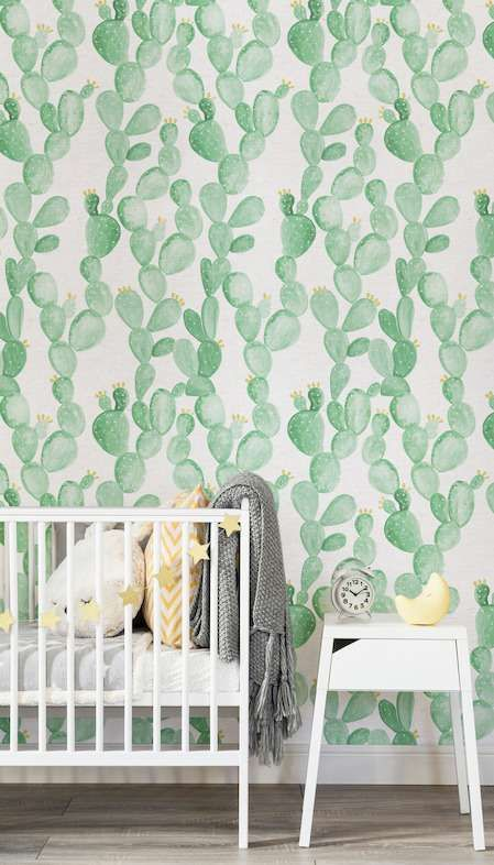 A Cactus Themed Room For Kids Kid Home And Children