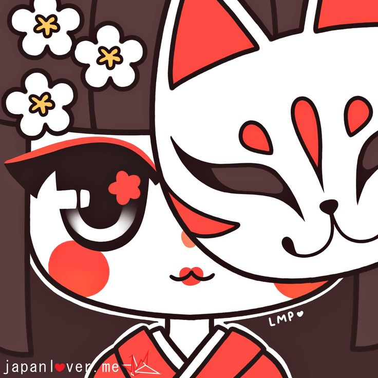 Kakkoii months are back here at Japan Lover Me!  Art by Little Miss Paintbrush  Sharing the Worldwide JapanLove ♥ www.japanlover.me ♥ www.instagram.com/JapanLoverMe