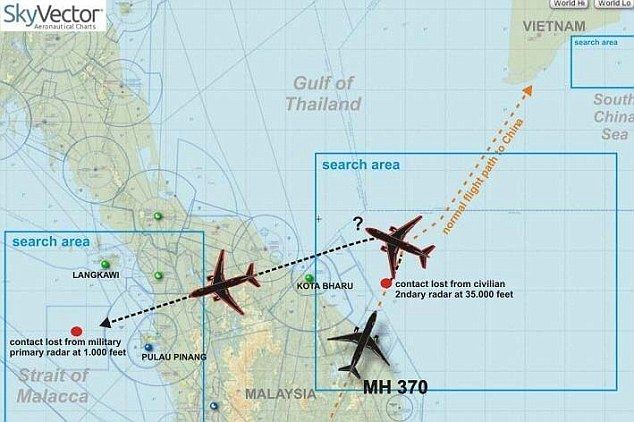 The Aviationist » What if MH370 was (mistakenly or purposely) shot down?