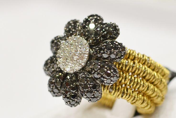 Anello in oro rosso con margherita  #luxuryzone #anello #ororosso #luxury
