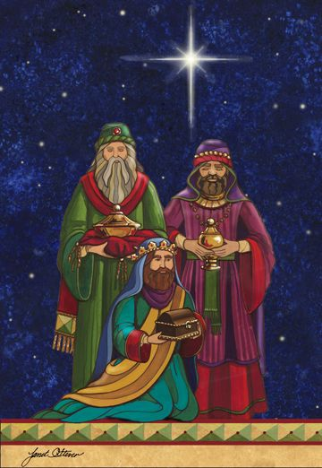 The Magi by Janet Stever ~ Christmas ~ Nativity ~ Three Wise Men ~ Star of Bethlehem