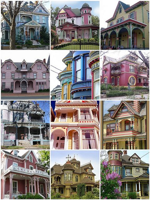 "These ""Painted Ladies"" are such a national treasure... I love them. Lived in one for many years."