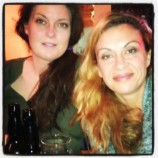 Lana & Natalija @Kisa Huish Ashton restaurant #goodmeal #zagreb