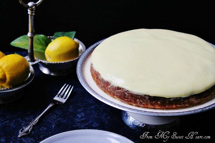 Lemon & Almond Streamliner Cake | Julie Richardson, author of Vintage ...