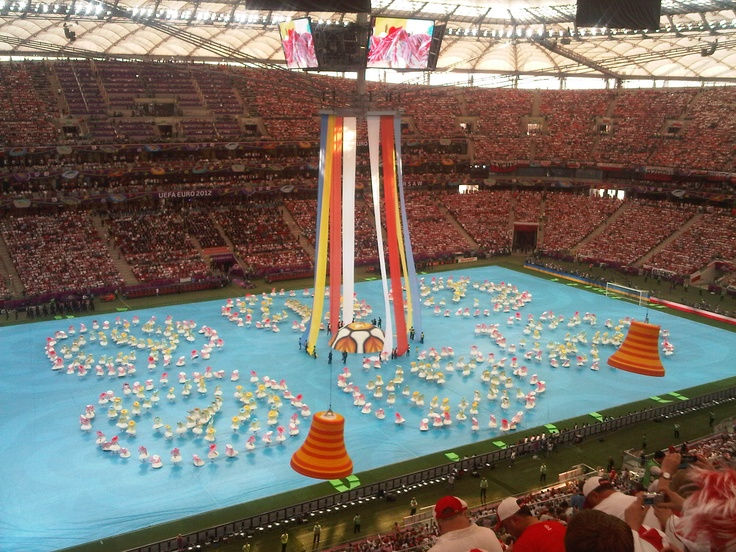 opening ceremony in Warsaw