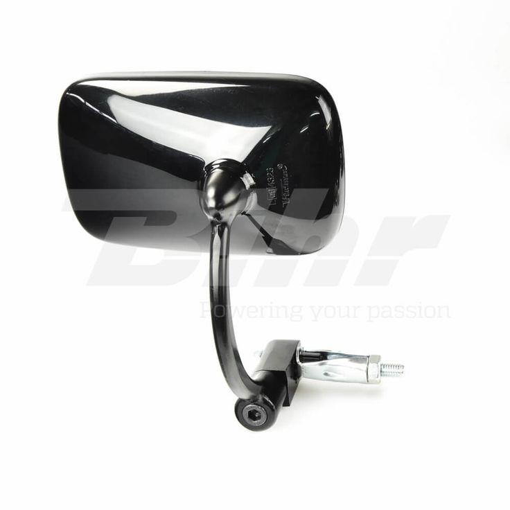 Retrovisor al puño negro ambos lados Café Racer - Troika Moto Parts