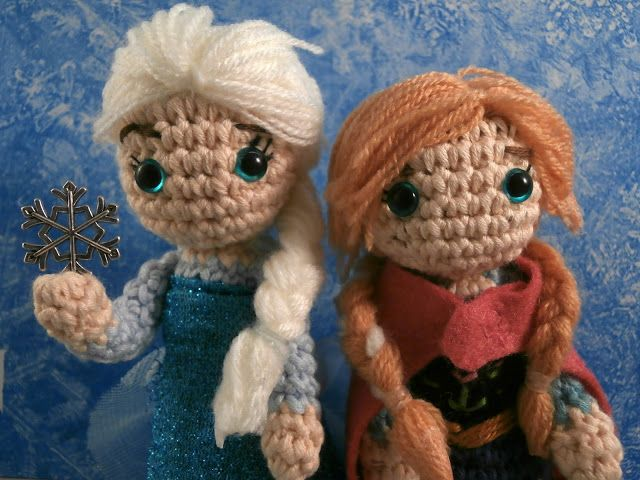 Amigurumi Anna Y Elsa : 1000+ images about Amigurumi made by me on Pinterest ...