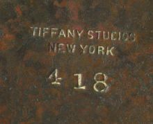 1000 Images About Authentic Tiffany Studios Signature