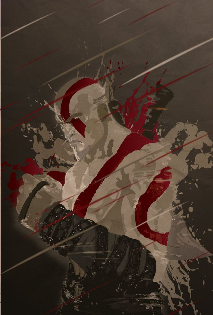Kratos - God of War - Mik4g.deviantart.com