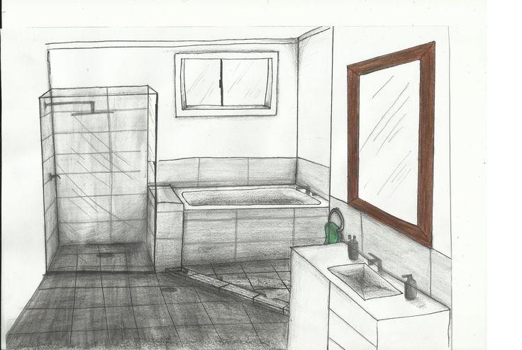 Bathroom- Rendered