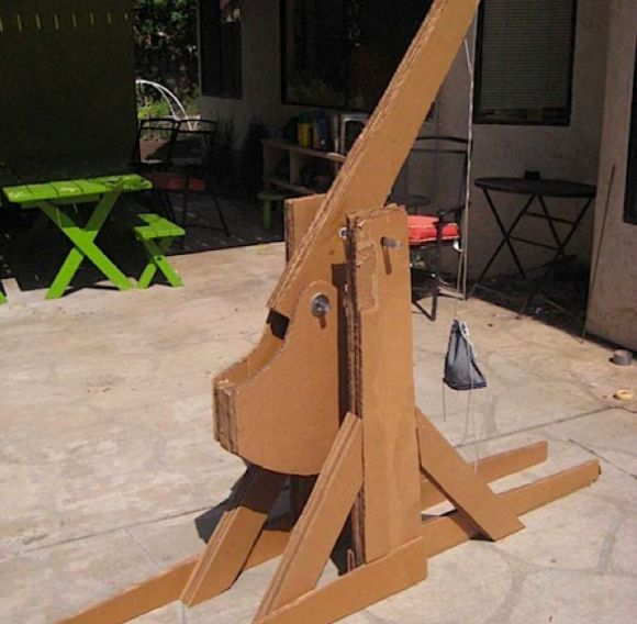 how to build a trebuchet science project