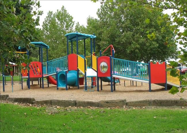 Singleton's All Abilities Playground is located at Rose Point Park and features a liberty swing, ramps and facilities for children of all ages and abilities.