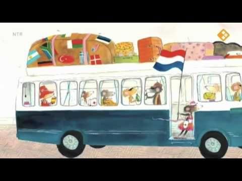Mejuffrouw Muis op vakantie (digitaal prentenboek)