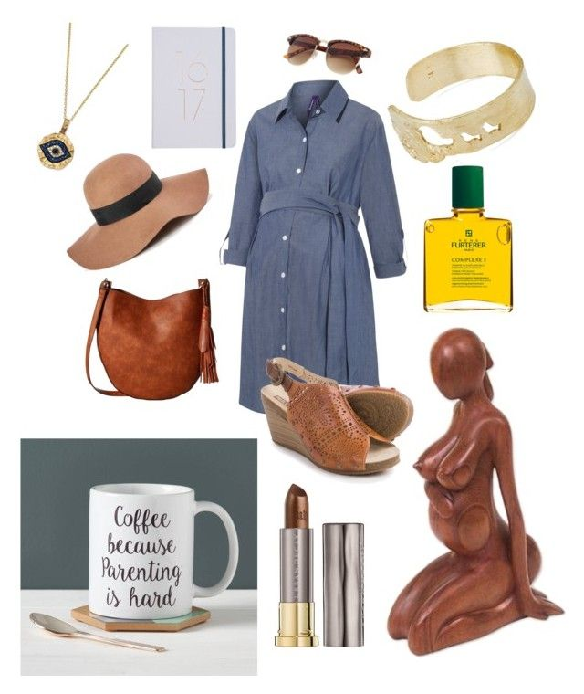 """Expecting mama..."" by raffaellapapami on Polyvore featuring Pikolinos, Reiss, Gabriella Rocha, NOVICA, Rene Furterer, Owl & Otter, Urban Decay and Bloomingdale's"