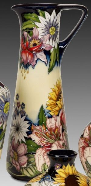 Moorcroft Sandbach Bouquet