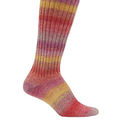 Mary Maxim - Free Basic Knit Sock Pattern - Free Patterns - Patterns & Books