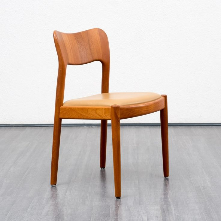 Set of 5 dinner chairs from the sixties by Niels Koefoed for Koefoeds Hornslet