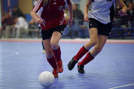 Futsal -- one of my passions.