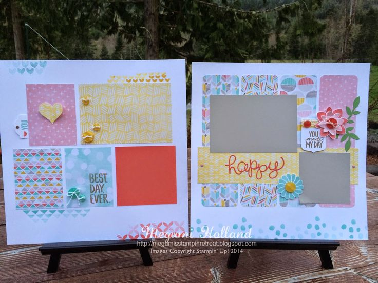 Megumi's Stampin Retreat, 2015 Stampin' Up! Occasions Catalog, 2015 Stampin' Up! Sale-A-Bration, Scrapbooking