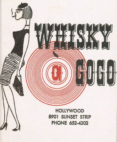 Whisky a GoGo - a lot of great bands and comics got their start there.