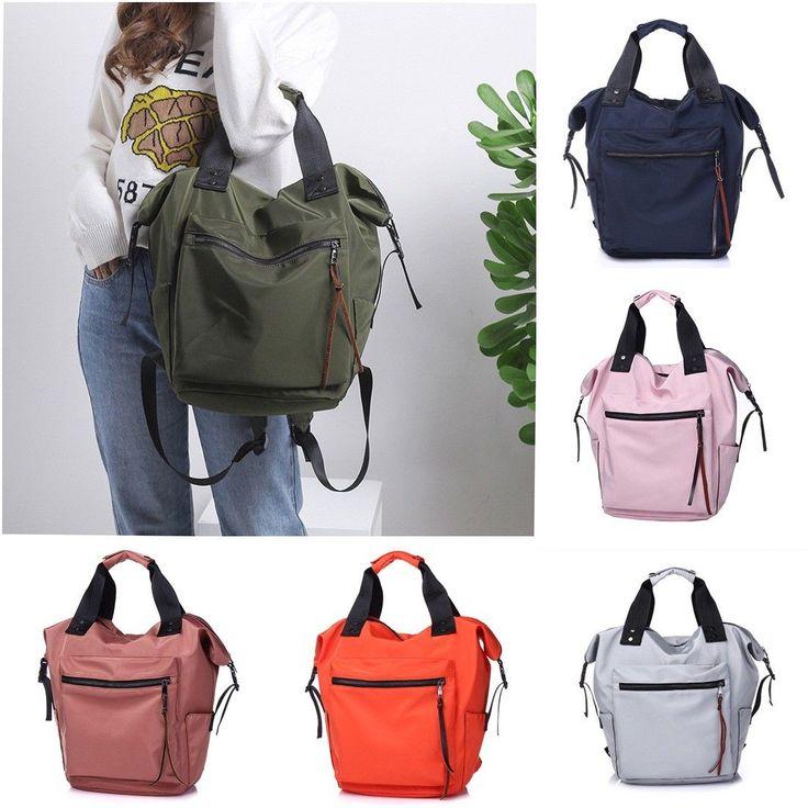 Large Women Student Backpack Fashion Lady Shoulder Handbag High School Tote Bag