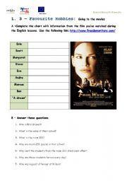 English Worksheet Freedom Writers The Film Freedom Writers Writer Film