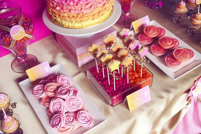 Treats at a Fairy Garden Party #fairy #gardenpartytreats