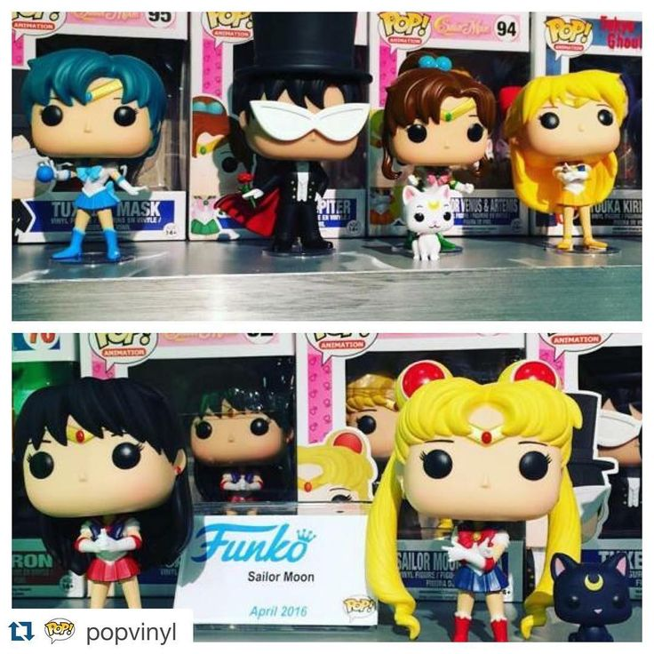 Sailor Moon Funko Pops!!!