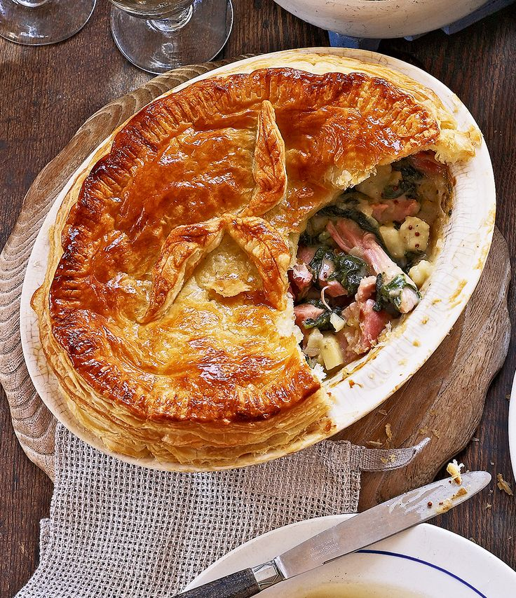 Use leftover ham in this freezable pie recipe – a perfect way to use up Christmas leftovers.
