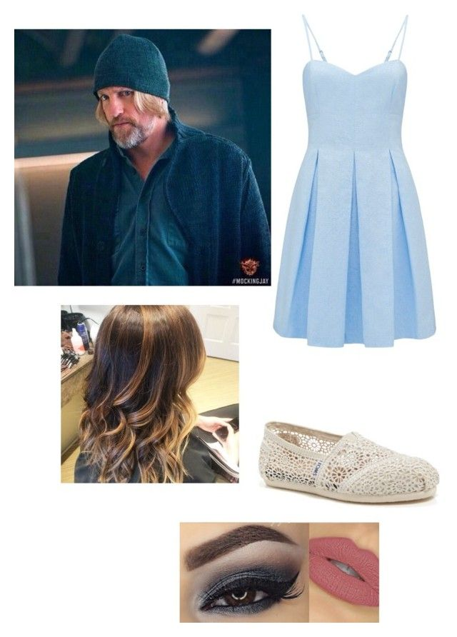 date with haymitch by daniellabramhall on Polyvore featuring Forever New and TOMS