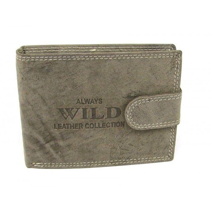 Velká peněženka pánská kožená - peněženky AHAL