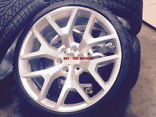 24 GMC Sierra Replica Wheels Silver Mch Rims Denali Yukon Silverado Tahoe 26 28
