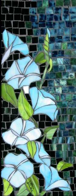 Fran Stoval :: Stained Glass, Pastel and Mosaic Artist