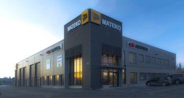 Mateko Oy toimii maanrakennuskonekaupan alalla merkkituotteiden maahantuojana, markkinointi- ja jälleenmyyntiyhtiönä. Yhtiön pääedustuksia ovat Euroopan suurimman maansiirtokoneiden valmistajan JCB:n merkkituotteet. Yritys on perustettu 1996. Yritys on yksityisessä omistuksessa ja voimakkaasti yrittäjävetoinen. Alunperin Jyväskylästä alkanut JCB -maarakennuskoneiden maahantuonti ja kauppa on laajentunut viidelle paikkakunnalle kattaen Suomen Uudeltamaalta pohjoisimpaan Lappiin.