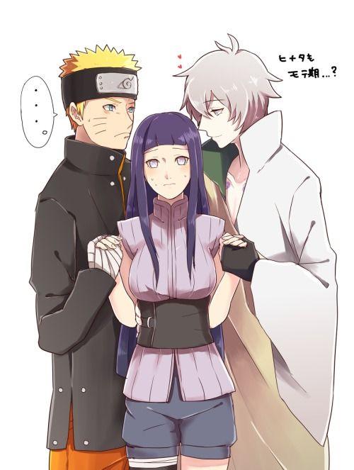 Naruto com hinata