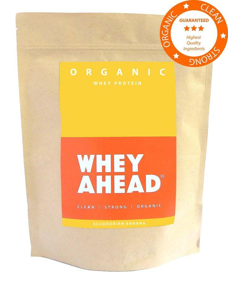 WHEY AHEAD® | Ecuadorian Banana Organic Whey Protein Powder | WHEY AHEAD®