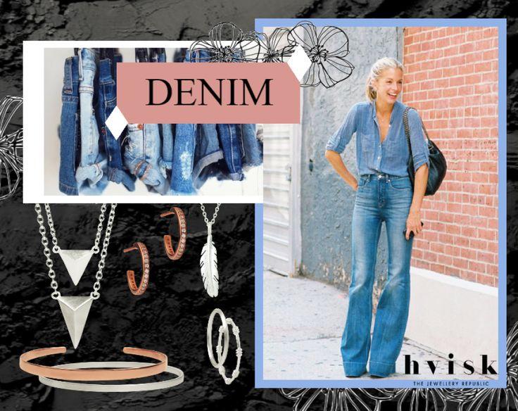 See more: http://hvi.sk/r/4APG  #hviskdenim #hvisk #hvistcreate #fashion #mode #denim #rosegold #smykker #jewellery