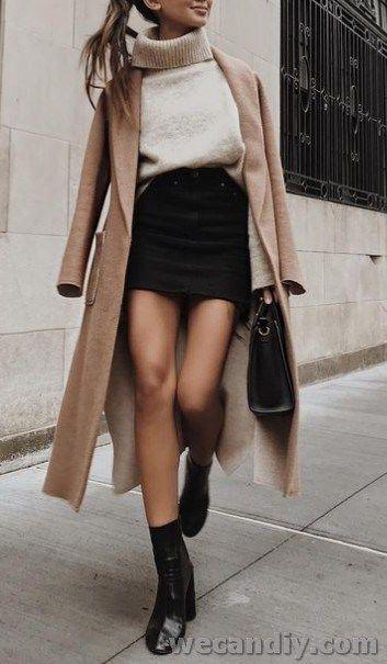 25 Inspiring Women Winter Outfit Ideas – #ideas #Inspiring #outfit #winter #wome…