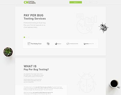 """Check out new work on my @Behance portfolio: """"Conversion Oriented Landing page for testing service"""" http://be.net/gallery/58721027/Conversion-Oriented-Landing-page-for-testing-service"""